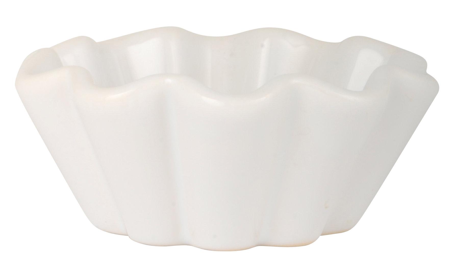 IB Laursen Muffinschale Mynte Pure White