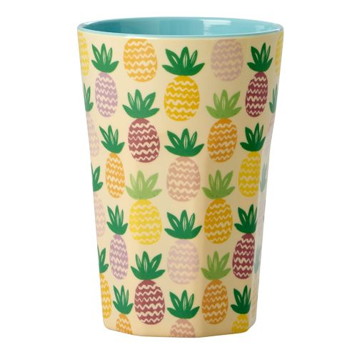 RICE Becher Latte Pineapple, Melamin