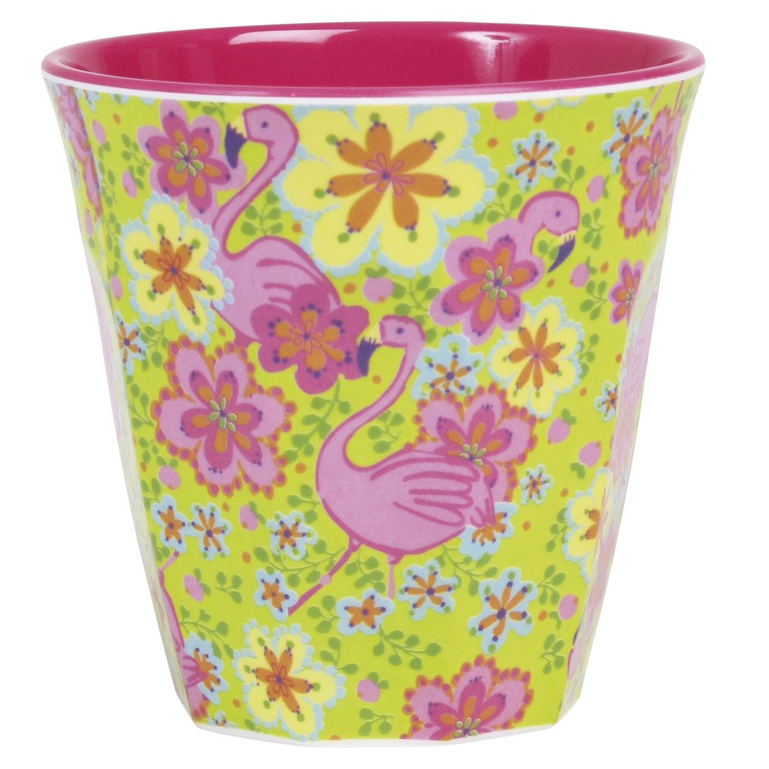 RICE Becher Flamingo, Melamin